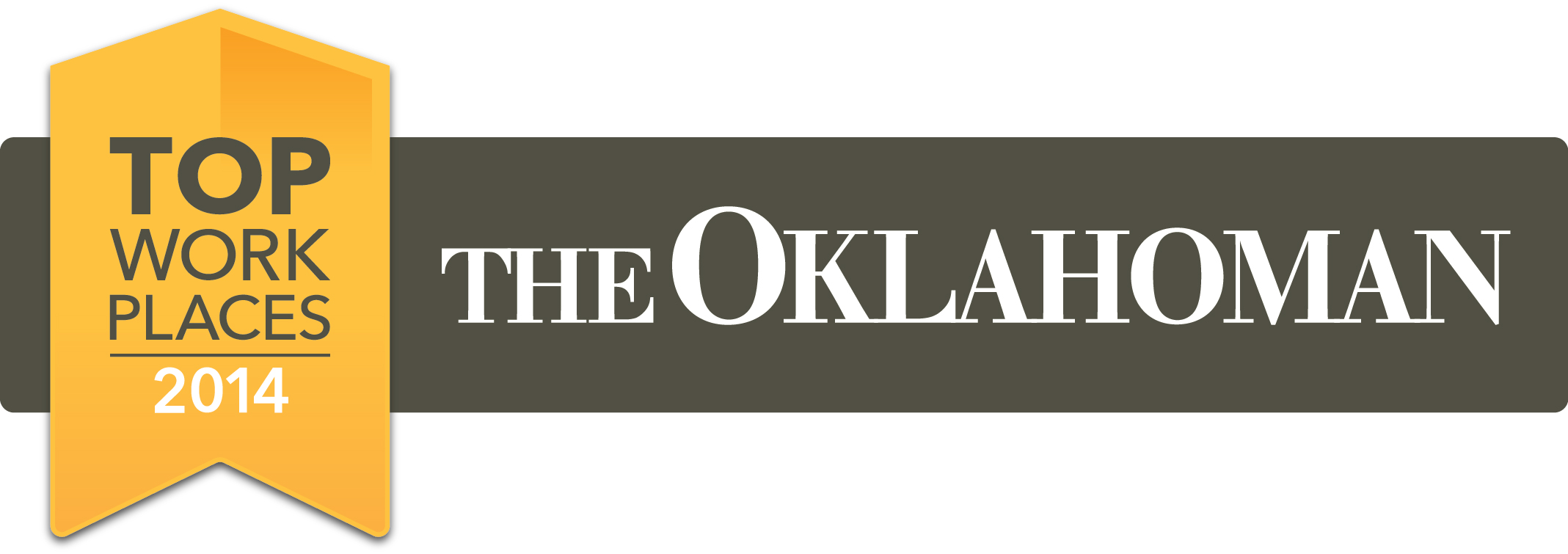 The Oklahoman Top Workplaces 2014 logo