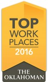 The Oklahoman's Top Workplaces 2016 Logo